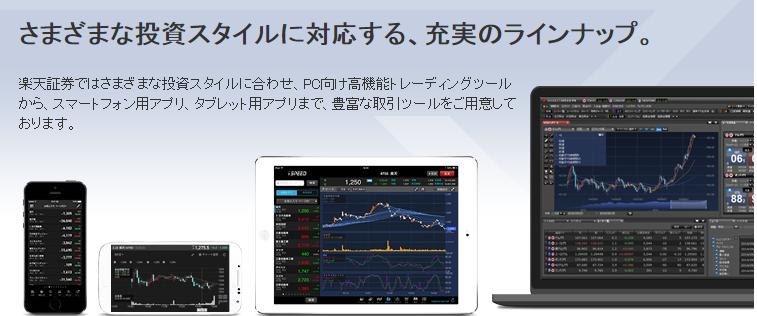 楽天証券「マーケットスピード」