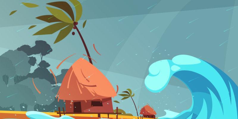 台風被害は火災保険でおりる!適用範囲を確認しよう!