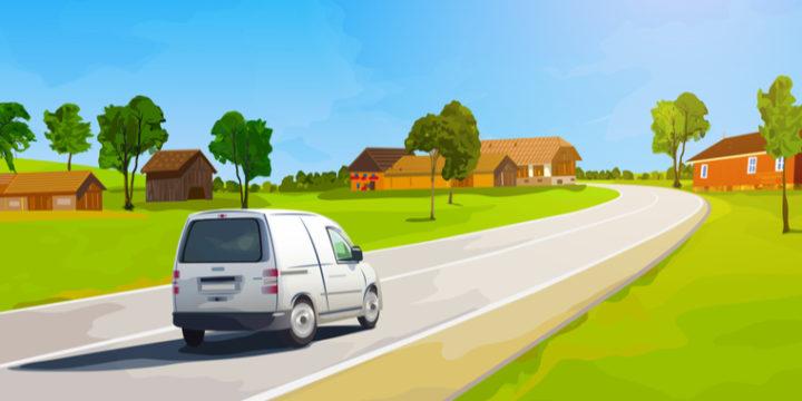 ソニー損保の自動車保険料は年間走行距離の区分が広い