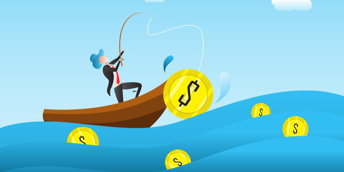 《分散投資》釣り堀が4つあったら、4つの釣り堀に糸を垂らす