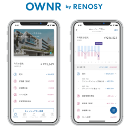 不動産投資をアプリでサポート リノシー