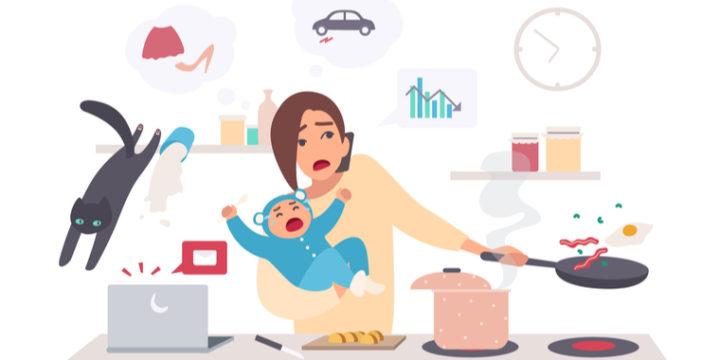シングルマザーの貧困の原因①子供がいる女性は正規雇用で働きにくい