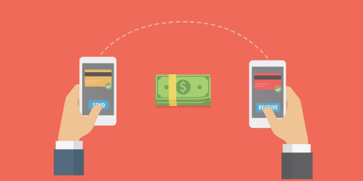 スマホ決済アプリで個人間送金ができる
