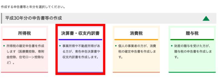 青色決算書・収支内訳書の作成(事業所得・不動産所得のある人のみ)