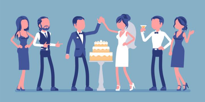 披露宴に必要なお金の目安は平均350万円ほど