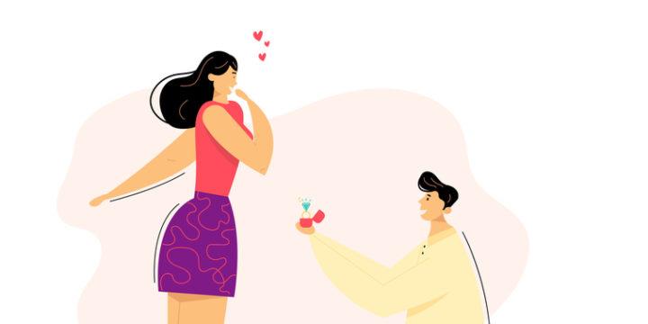 結婚を決意する理由や決め手は年齢でも変わる