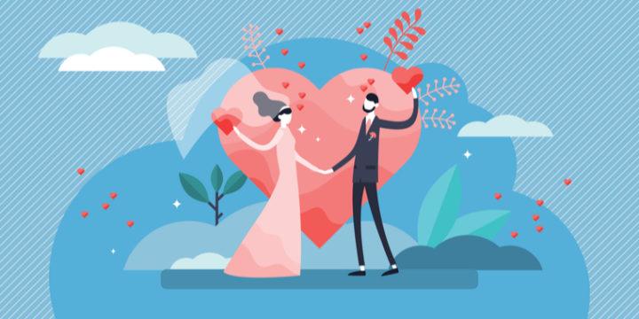 平均初婚年齢は男性、女性ともに30歳程度