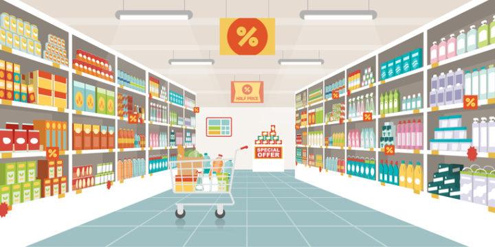 テクニック①「スーパー分類」で材料費を抑える方法!スーパー選びのコツって?