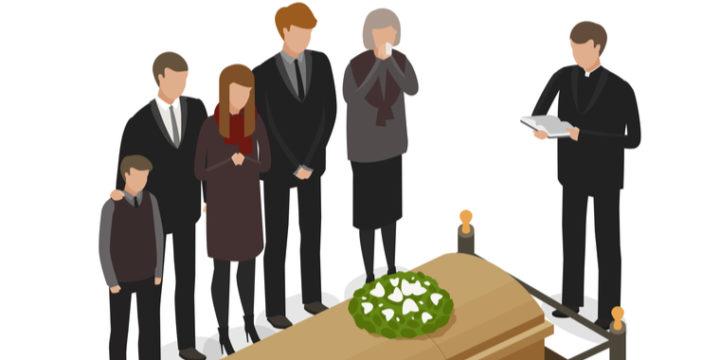 ④子供を引き取って再婚した夫が死亡した場合