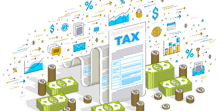 手取り年収の計算方法は「年収-(税金+社会保険料)」