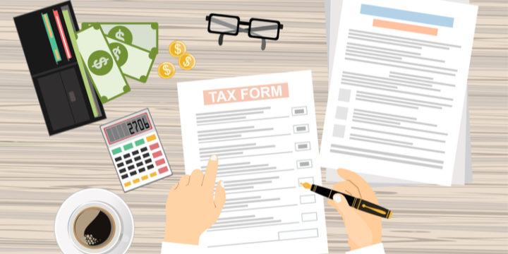 税金の目安となる一覧表!分岐点を押さえておこう