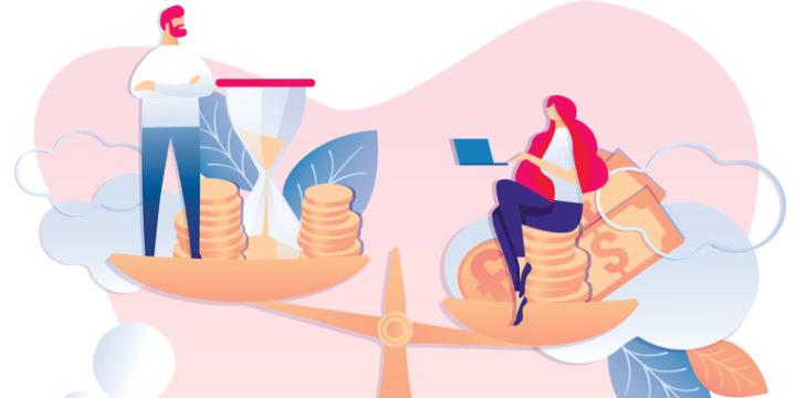 年収1000万円以上の人の割合は男性7.7%、女性1.2%