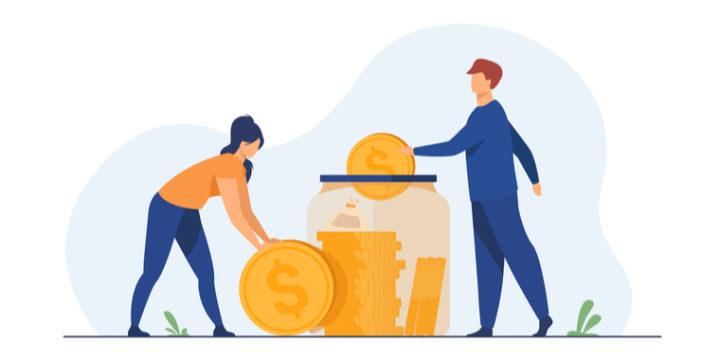 既婚者の年間の手取り給料額別の貯蓄割合!