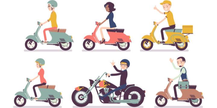 人気バイク保険3種類を比較