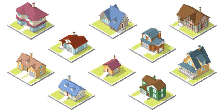 住宅の構造や面積は変えようがない!
