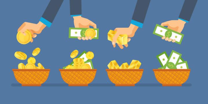 資産運用に失敗しないコツは、「分散投資」を心がけること