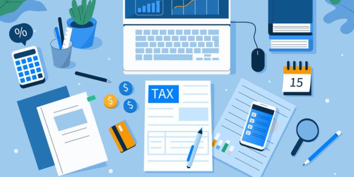 個人事業主が副業をしたら税金はどうなる?所得金額の計算方法&確定申告の手順