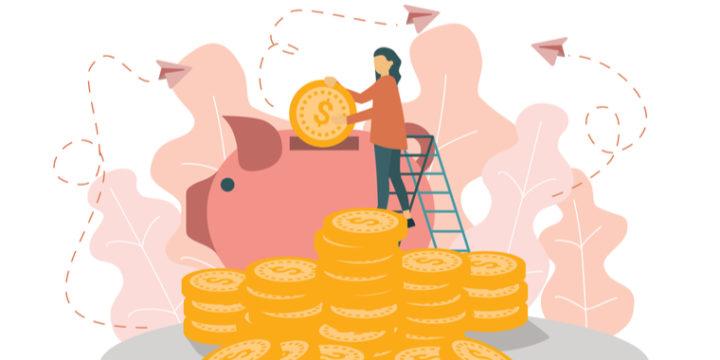 貯金の増やし方【節約編】生活費の見直しや半強制的な貯金etc.