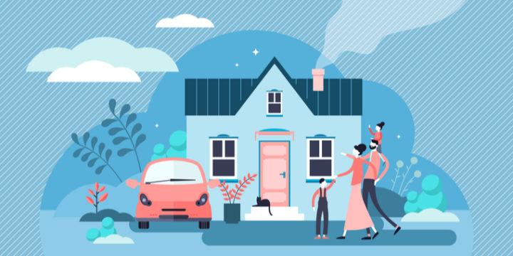 家計の内訳で生活に関係なく割高なのが保険料と家賃