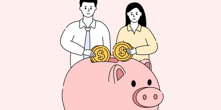 夫婦二人だけの平均的な生活費目安は約25~26万円程度