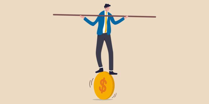 損失を出しても投資信託での運用をやめないようにする